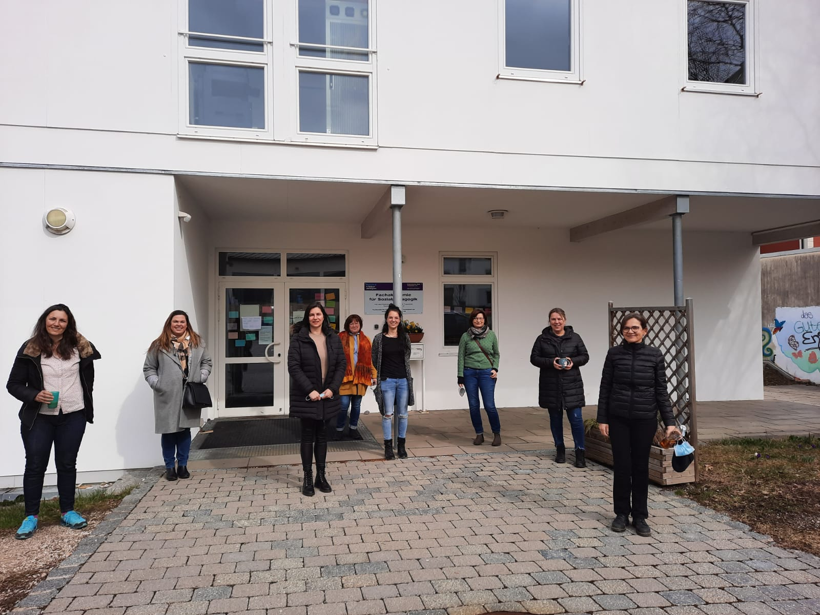 Teilnehmerinnen am FPG-Abschlusstest 2021 in Traunstein